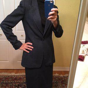 Carlisle 3 Piece Jacket, Skirt & Pants Blue Tweed